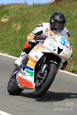 Bruce Anstey 7 Poster by Richard Norton Church