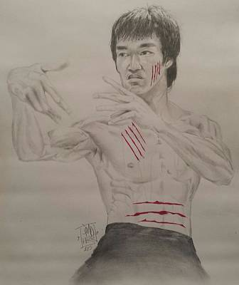 Bruce Lee Poster by DMo Herr
