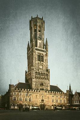 Bruges Belfort Poster by Joan Carroll