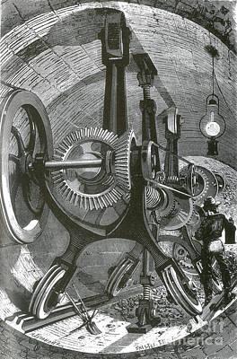 Brunton Machine, 1874 Poster by Science Source