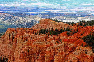Bryce Canyon II Poster by Tom Prendergast