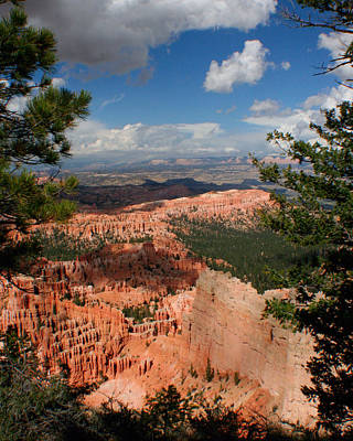 Poster featuring the photograph Bryce Canyon by Jon Emery