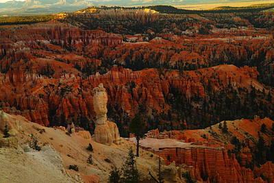 Bryce Canyon Near Sundown Poster by Jeff Swan