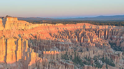 Bryce Point Sunrise - Bryce Canyon National Park - Nv Poster by Steve Lagreca