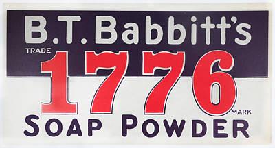 B.t. Babbitt's 1776 Soap Powder Poster