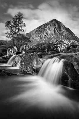 Buachaille Etive Mor 4 Poster by Dave Bowman