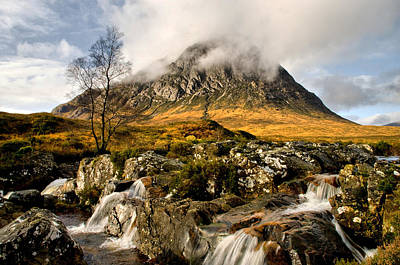 Buachaille Etive Mor Poster by Jacqi Elmslie