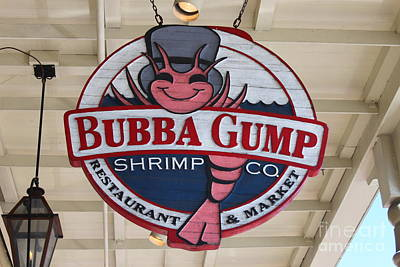 Bubba Gump Shrimp Co. Poster