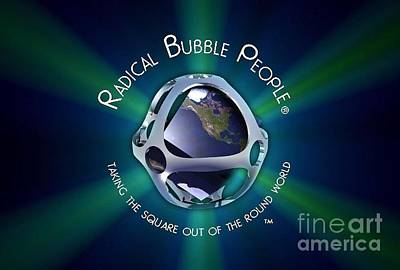 Bubble Mantra Poster