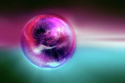 Bubble Universe Poster by Detlev Van Ravenswaay