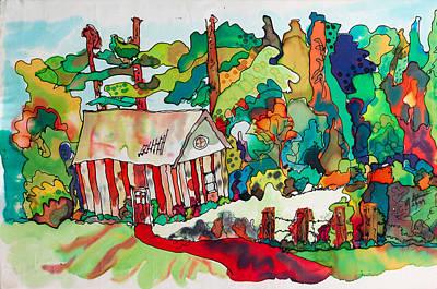 Bubblegum Ranch 3 Poster by Walt Stevenson