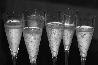 Bubbly II Poster by Bonnes Eyes Fine Art Photography