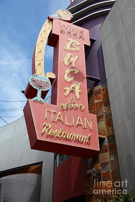 Buca Italian Restaurant Universal Studios City Walk Hollywood In Los Angeles California 5d28412 Poster
