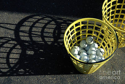 Bucket Of Golf Balls Poster by Amy Cicconi
