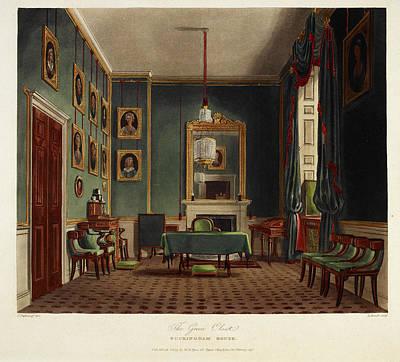 Buckingham House Poster