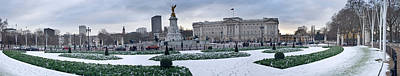 Buckingham Palace In Winter, City Poster by Panoramic Images
