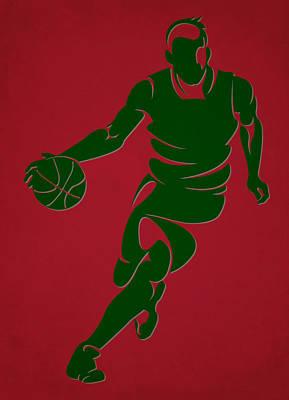 Bucks Shadow Player6 Poster by Joe Hamilton