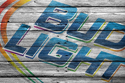 Bud Light Poster by Joe Hamilton
