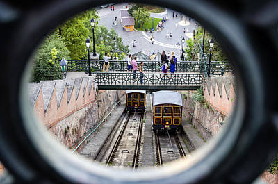 Budapest Castle Hill Funicular Poster