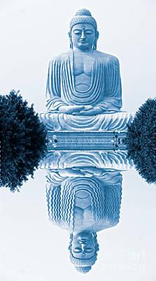 Buddha - Bodhgaya - India Poster by Luciano Mortula