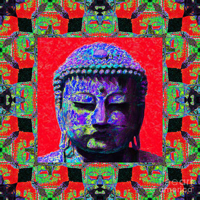 Buddha Abstract Window 20130130p55 Poster