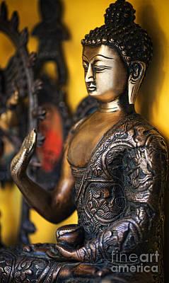 Buddha Blessings Poster
