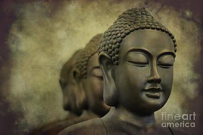 Buddha Bronze Poster