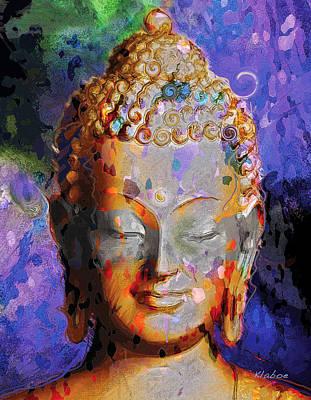 Buddha Poster by David Klaboe
