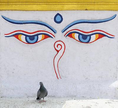 Buddha Eyes Poster