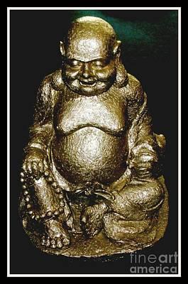 Buddha Good Luck Poster by Gail Matthews