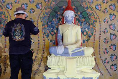 Buddha In Making Poster