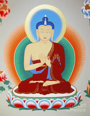 Buddha Maitreya Poster by Sergey Noskov