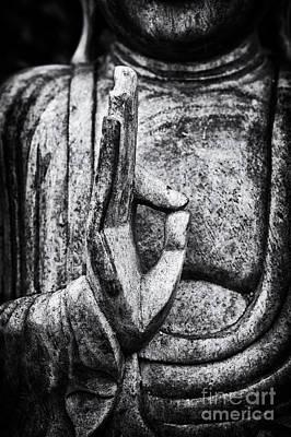 Buddha Mudra Poster by Tim Gainey