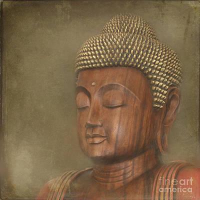 Buddha Poster by Sharon Mau