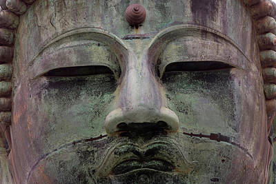 Buddha Statue, Daibutsu (gt Buddha Poster by Peter Adams