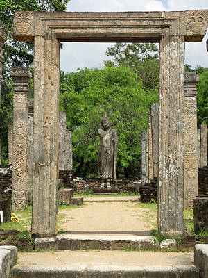 Buddha Statue In The Atadage Temple Poster by Panoramic Images