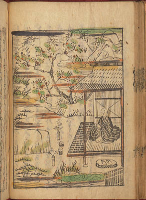 Buddhist Monk In Contemplation Poster by British Library