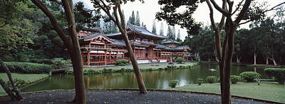 Buddhist Temple, Byodo-in Temple Poster by Panoramic Images
