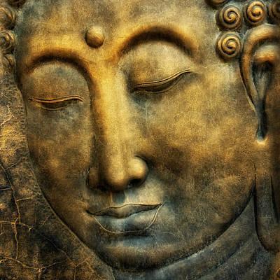 Buddho Poster by Joachim G Pinkawa