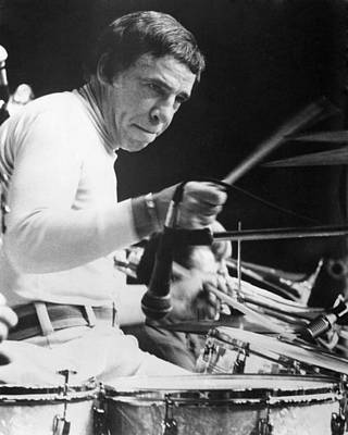 Buddy Rich Poster by Silver Screen