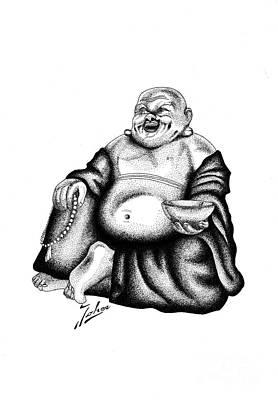 Budha Poster by Joker Gallery