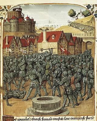 Bueil, John V Of 1406-1477. Noble Poster by Everett