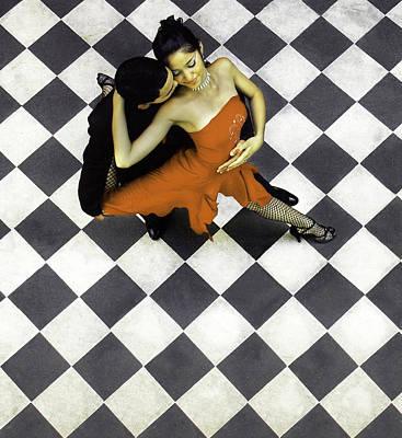 Buenos Aires, La Boca, Argentina, Tango Poster