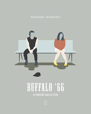 Buffalo '66 Poster by Smile In The  Mind