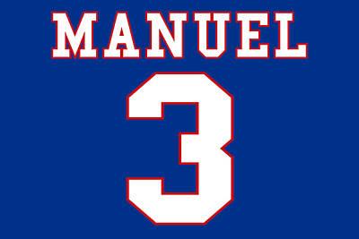 Buffalo Bills Ej Manuel Poster by Joe Hamilton