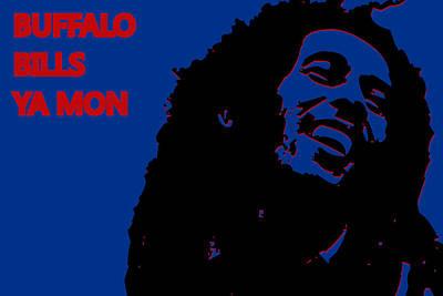 Buffalo Bills Ya Mon Poster by Joe Hamilton