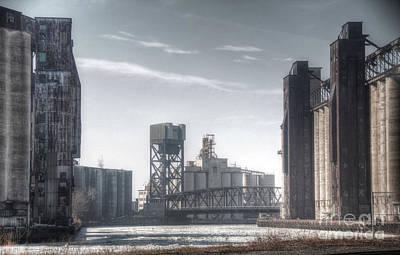 Buffalo Grain Mills Poster by Jim Lepard