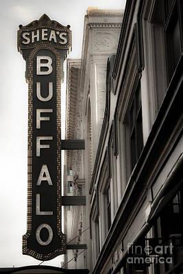 Buffalo Poster by Ken Marsh