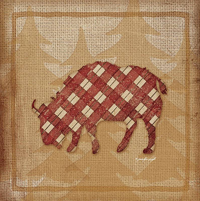 Buffalo Plaid Poster by Jennifer Pugh