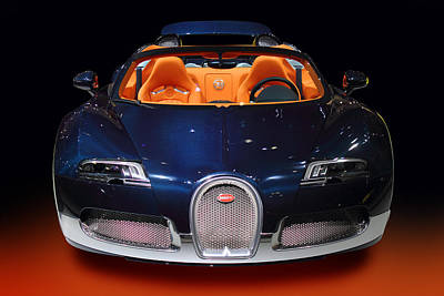 Bugatti Luxury Sport Car Poster